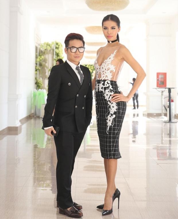 Nhà thiết kế Chung Thanh Phong và Minh Tú.