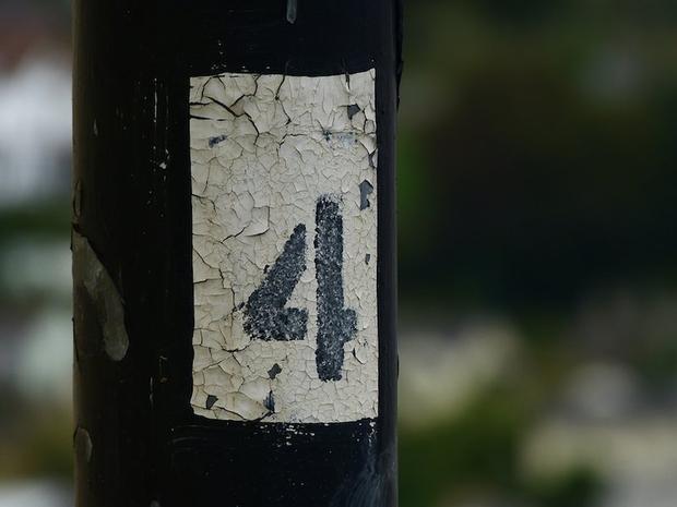 """Người Trung Quốc kiêng số 4 vì cách phát âm """"số 4"""" giống cách phát âm chữ """"tử"""" trong tiếng Trung."""