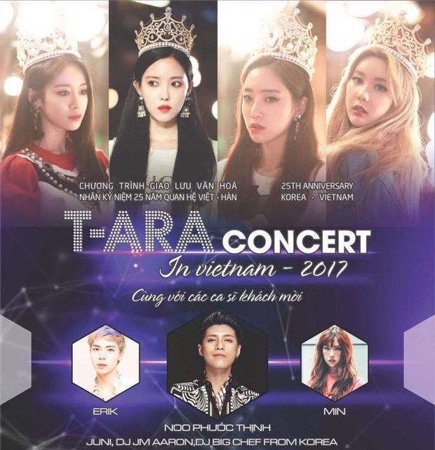 Concert của T-ara cùng nhiều nghệ sĩ Việt sẽ chính thức khai mạc ngày 4/11 tới.