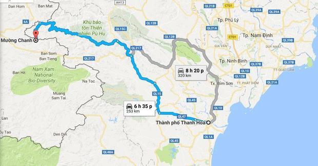 Xã Mường Chanh (huyện Mường Lát) - Nơi xảy ra vụ án mạng.