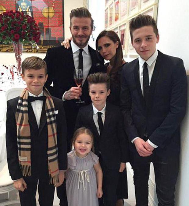 Victoria rất biết cách bảo vệ hạnh phúc gia đình.