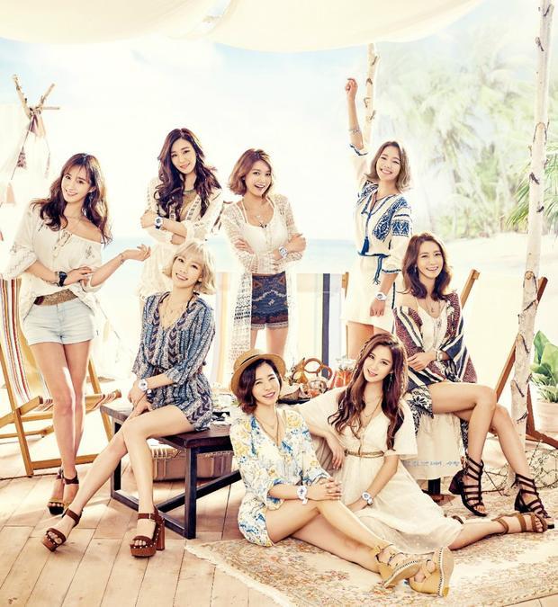 Hình ảnh SNSD - nhóm nhạc nữ đông thành viên nhất thuở nào giờ chỉ còn là hồi ức đẹp trong lòng các fan Kpop.