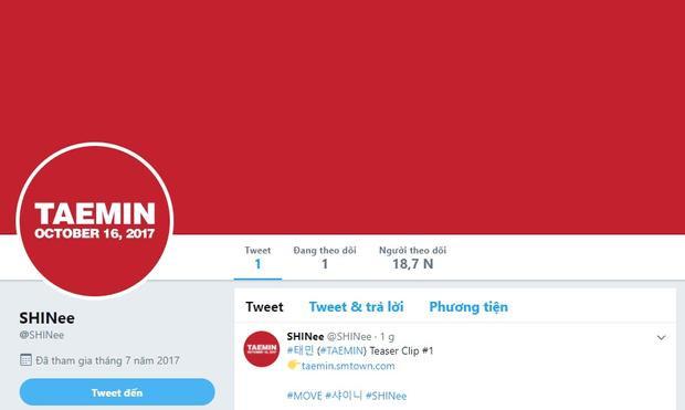 SM mở tài khoản Twitter chính thức cho SHINee…