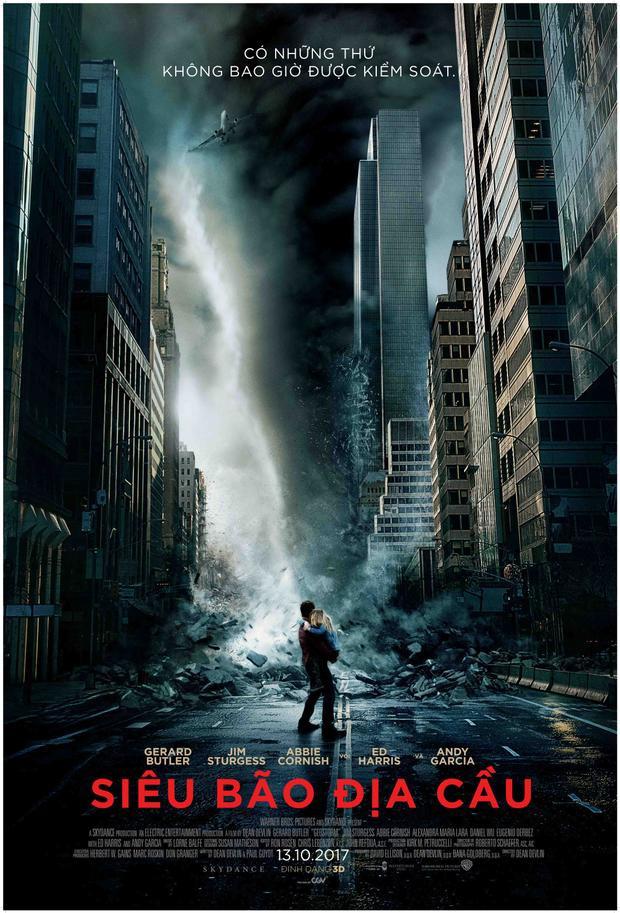 Loạt thảm họa thiên nhiên đầy hãi hùng trong phim về tận thế Geostorm