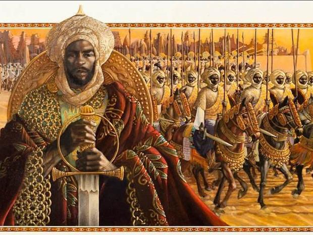 Ngoài giàu có, sử sách còn ghi lại nhiều giai thoại khác về ông. Trong thời kỳ trị vì Đế quốc Mali, ông đã biến Timbuktu thành trung tâm văn hoá Hồi giáo. Chính ông là người cho xây dựng đền thờDjinguereber vẫn tồn tại đến ngày nay, xây trường đại học và nhiều công trình khác.