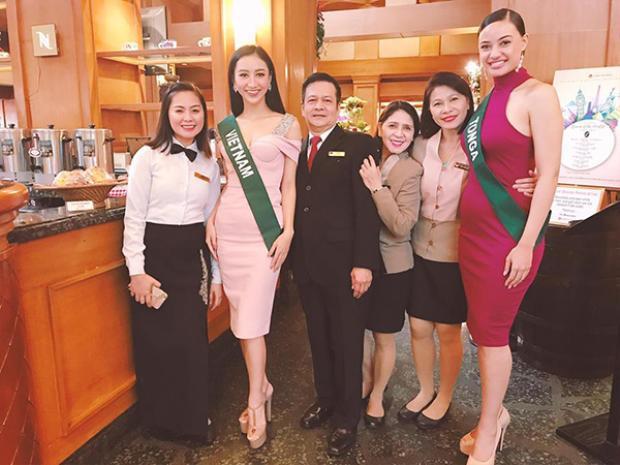 Á hậu Hà Thu được dự đoán lọt Top 10 được yêu thích nhất Miss Earth 2017