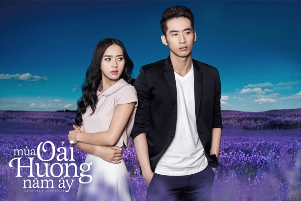 Trong phim, anh và Bella Mai là một cặp đôi.