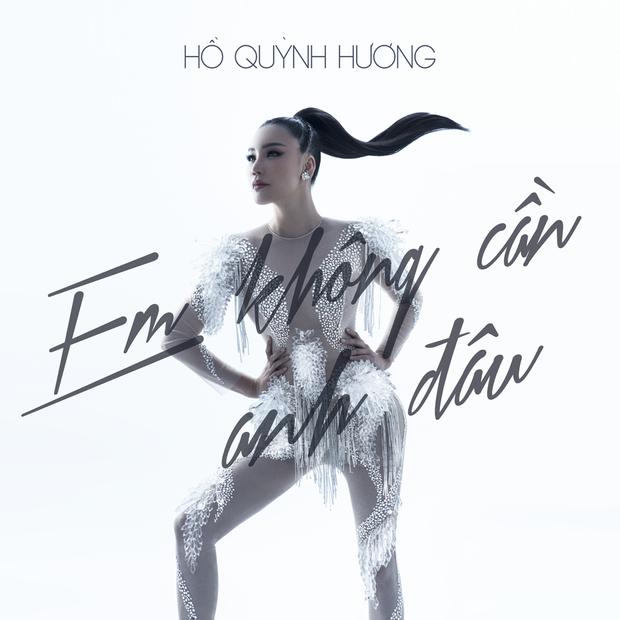 Hình ảnh Hồ Quỳnh Hương thu hút trong single mới.