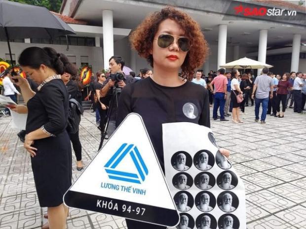 Chị Chi - cựu học sinh của trường Lương Thế Vinh khóa 1994-1997.