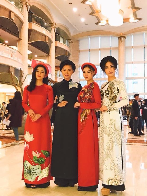 Từ trái sang phải: Oanh Kiều, Ngô Thanh Vân, Ninh Dương Lan Ngọc & Diễm My 9x