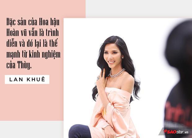 Lan Khuê: Hoàng Thùy hoàn toàn có thể đăng quang Hoa hậu Hoàn vũ năm nay