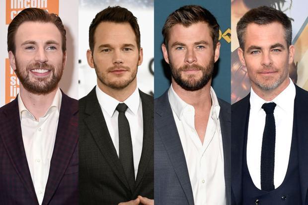 Nếu đưa 4 chàng Chris của Hollywood lên bàn cân thì sẽ như thế nào?