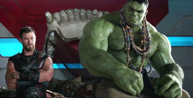 Có vẻ như sự kết hợp của Thor và Hulk sẽ cực kỳ thú vị đây