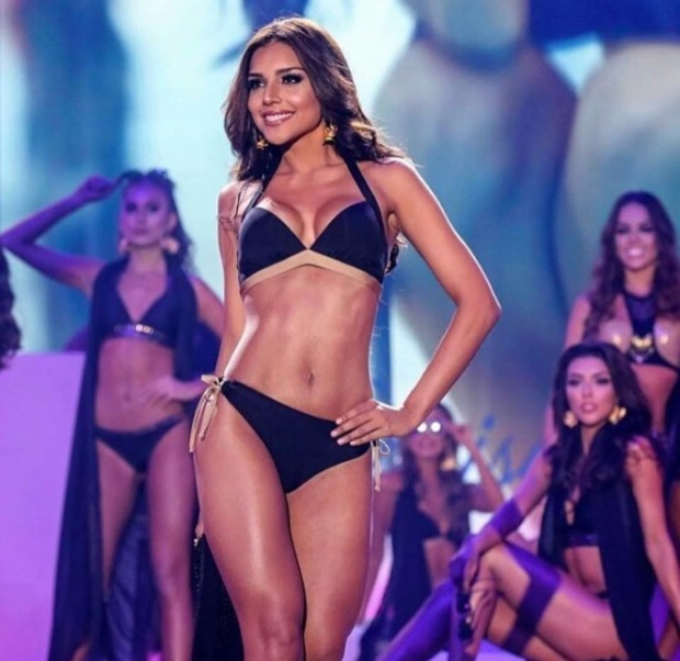 Sở hữu chiều cao 1m78, số đo nóng bỏng đặc trưng của các Hoa hậu Colombia: 90-60-95 cùng gương mặt ngọt ngào, rực rỡ, Laura hiển nhiên trở thành đối thủ mà đại diện các nước phải dè chừng.