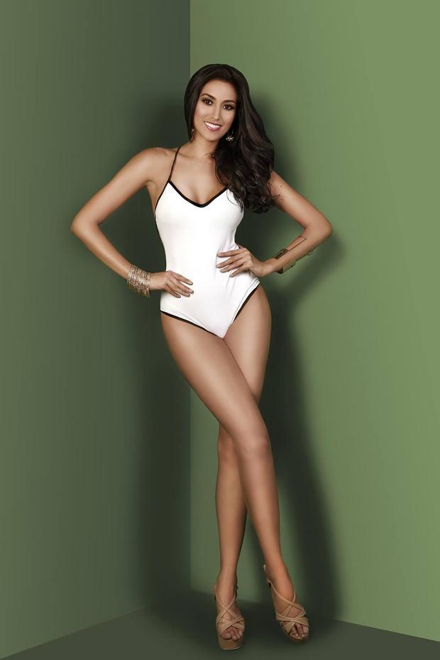 Thân hình xuất sắc của Hoa hậu Hoàn vũPhilippines. Rachel được kỳ vọng sẽ tiếp tục đạt thành tích cao tại cuộc thi năm nay.