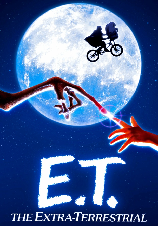 Poster phim ET: The Extra-Terrestrial,