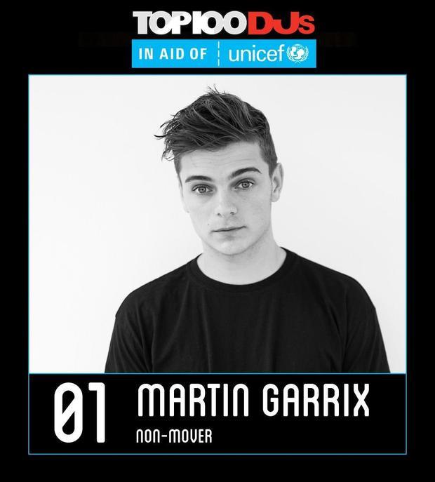 Martin Garrix bảo vệ thành công ngôi vị DJ số 1 thế giới.
