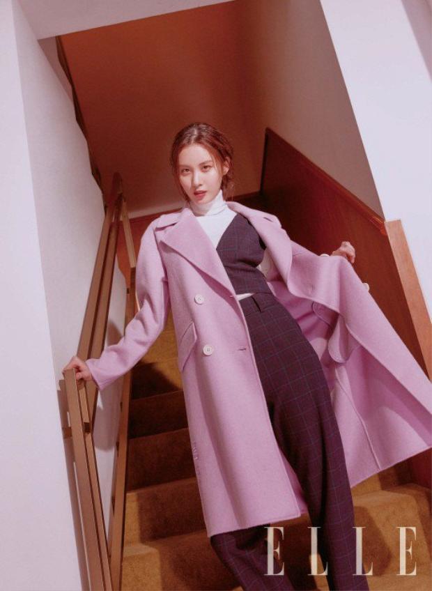 Seohuyn ngày càng chín chắn và mặn mà hơn trong nhan sắc cũng như gout thời trang của mình, hứa hẹn sắp tới sẽ trở lại hoành tráng.