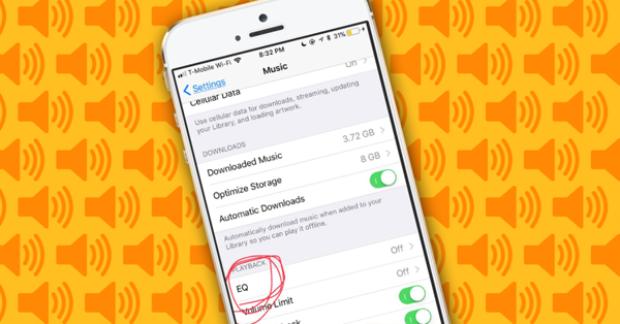 Apple khuyên người dùng sử dụng chế độ Late Night khi nghe nhạc ở những nơi có tiếng ồn.