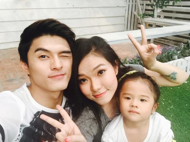 Gia đình nhỏ của Lâm Vinh Hải - Lý Phương Châu trước đây.
