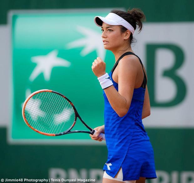 Hoa khôi quần vợt Pháp tiết lộ điều kiện đặc biệt để hẹn hò Hoàng Nam