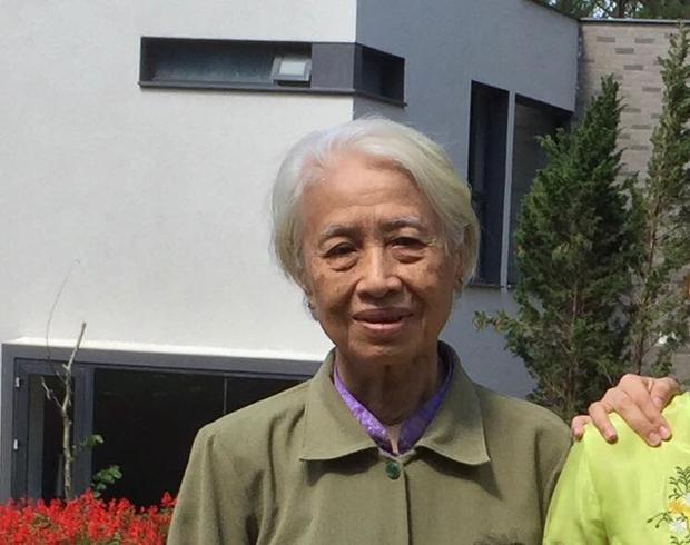 Chân dung mẹ ruột của đạo diễn Nguyễn Quang Dũng.