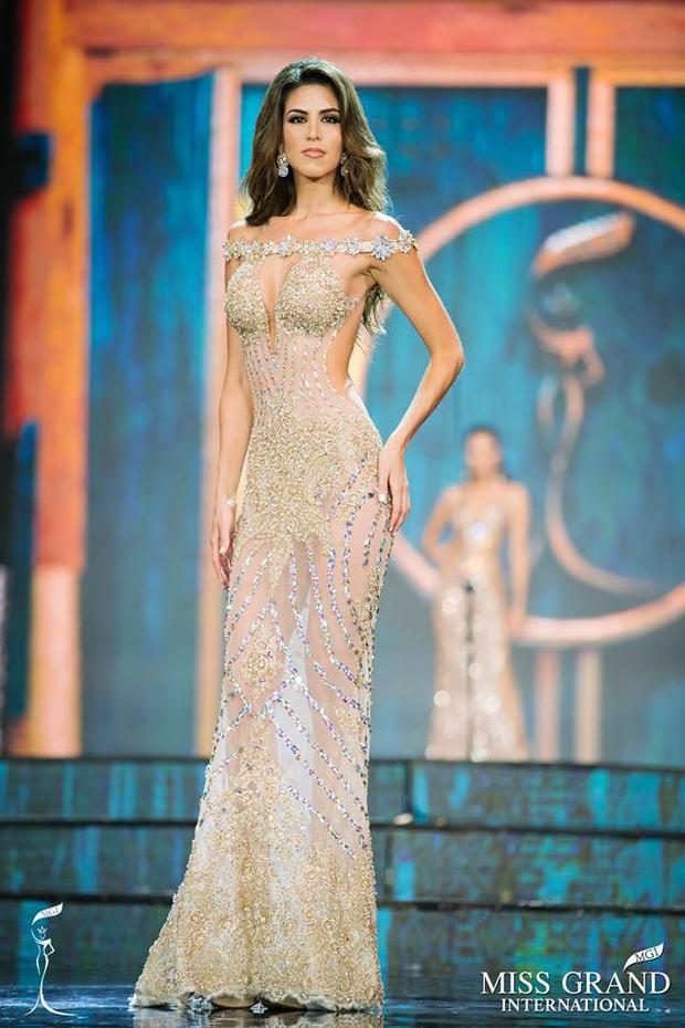 Những hình ảnh của Maria Jose Lara tại Hoa hậu Hòa bình Thế giới năm nay.