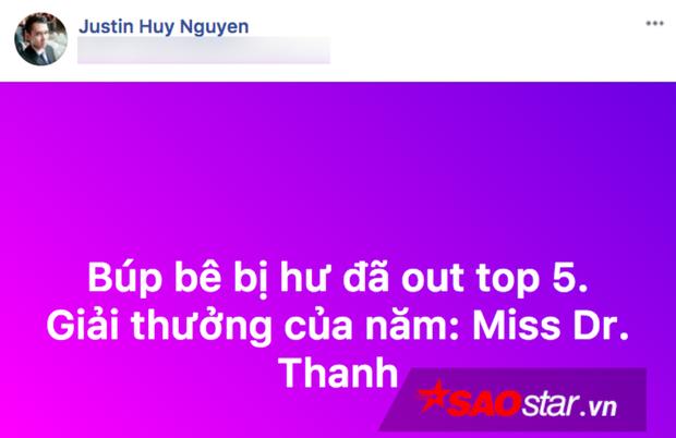 """Quản lý Nguyễn Thị Thành đăng status """"đá xoáy"""" Huyền My."""