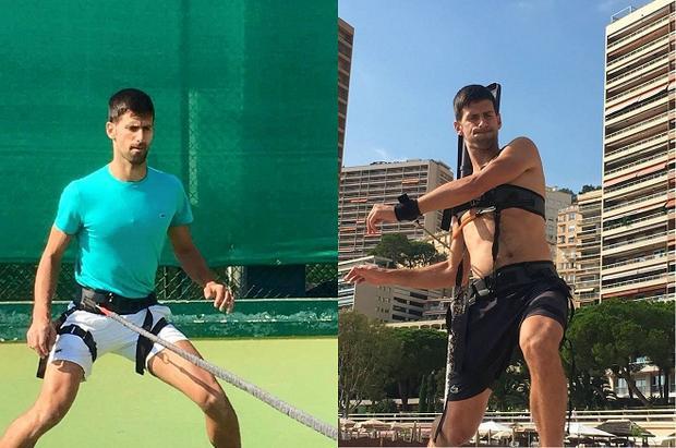 Djokovic tích cực tập luyện duy trì thể lực