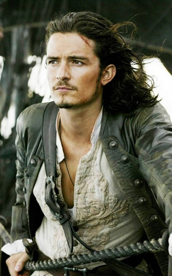 Will Turner trong Pirates of the Caribbean