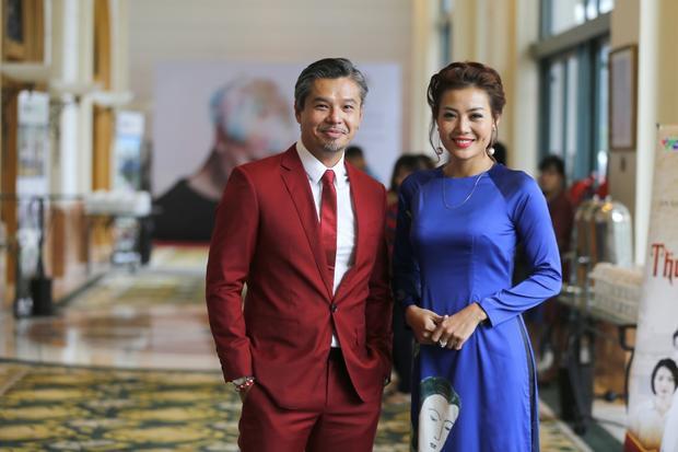 …và Thanh Hương tại sự kiện.
