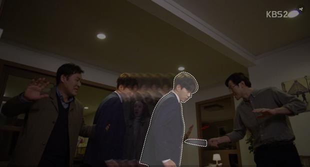 Jin Wook là người bị đâm trong tính toán của cô.
