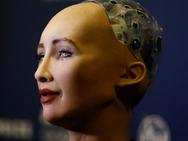 Sophia cũng được xem là một trong những robot giống người nhất hiện nay.