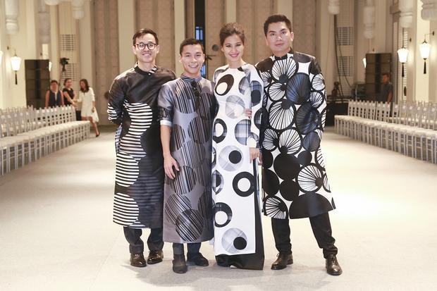 Nhà thiết kế Thuỷ Nguyễn có mặt ủng hộ chương trình của bạn thân.