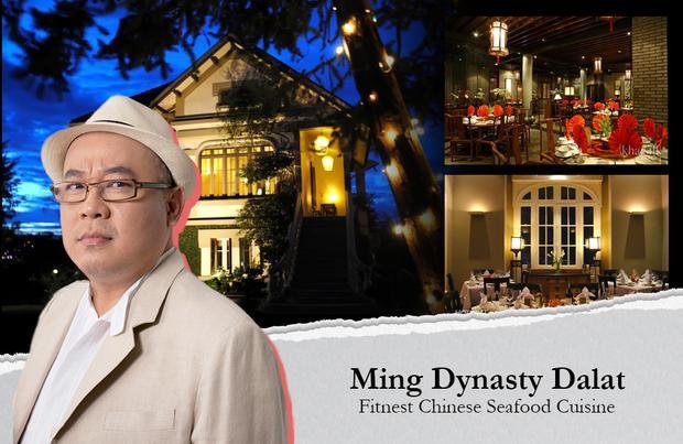 Ming, nhà hàng Trung Hoa của doanh nhân Hoàng Khải được đánh giá là một trong những biệt thự đẹp nhất của Đà Lạt (Lâm Đồng).