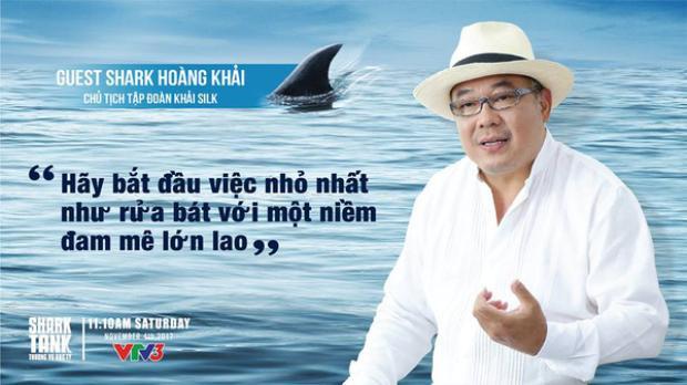 Câu nói truyền cảm hứng của Khải Silk tại Shark Tank.