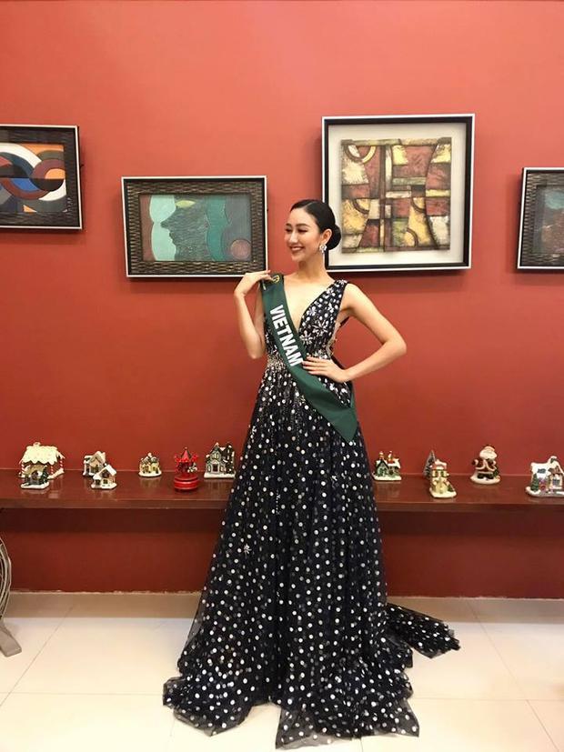 Á hậu Hà Thu dẫn đầu bình chọn Gương mặt ăn ảnh ở Miss Earth 2017