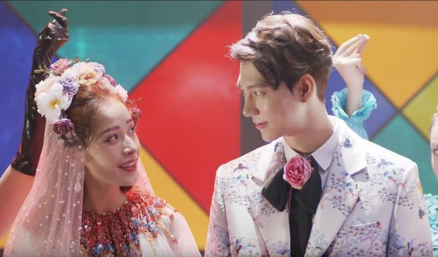 Chi Pu cùng bạn diễn điển trai người Hàn Quốc tỏ ra khá ăn ý trên màn ảnh.