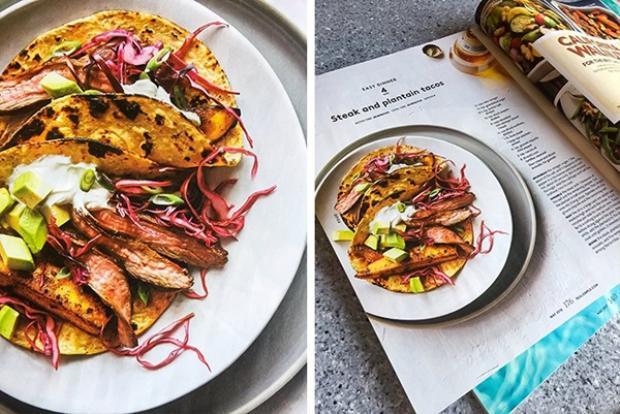 Tấm hình đĩa đồ ăn chụp đẹp như tạp chí, à mà nó thực tế đúng là ảnh tạp chí đấy chứ!