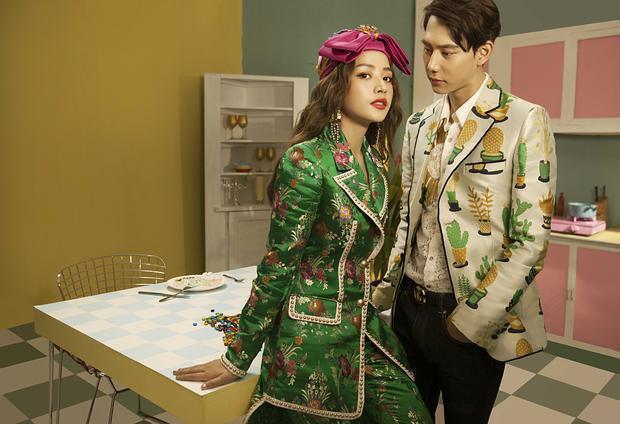 """Vai nam chính trong MV là diễn viên""""Đối tác bất ngờ"""" - Jin Ju Hyung đến từ Hàn Quốc. Anh chàng sở hữu ngoại hình cùng gương mặt vô cùng điển trai."""
