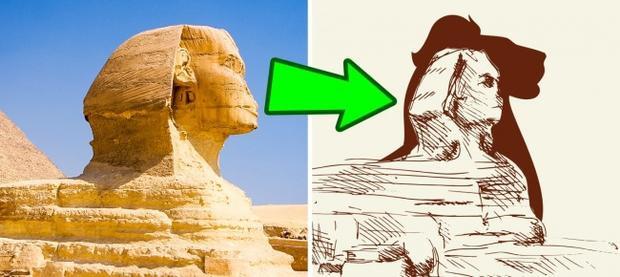 Tượng nhân sư ở Giza