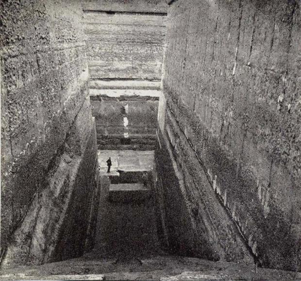 Kim tự tháp chưa hoàn thành ở Zawiyet el-Aryan, Ai Cập