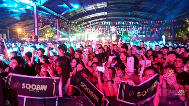 Khán giả thủ đô háo hức mong chờ màn trình diễn của Soobin.