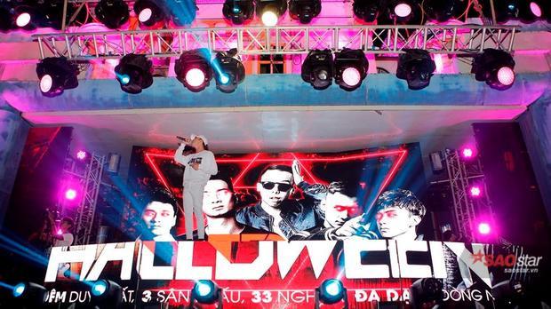 Soobin diện cây trắng, quẩy Halloween nhiệt tình cùng 5000 anh em Hà Nội