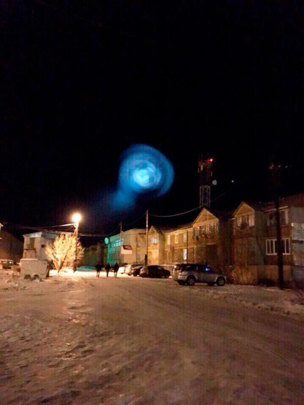 Nhiều nhân chứng cho rằng sự xuất hiện của quả cầu khổng lồ là dấu hiệu cho thấy ngày tận thế sắp xảy ra