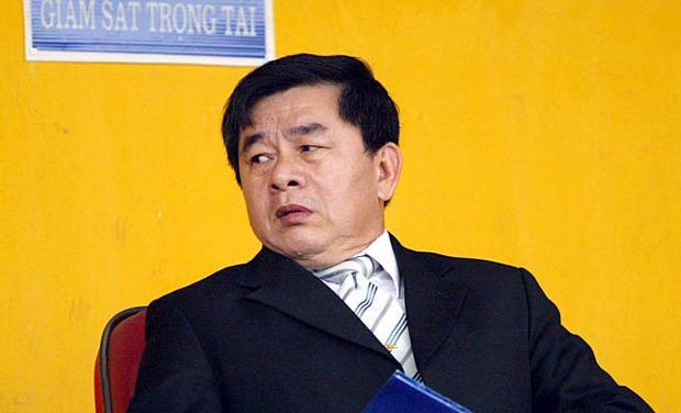 Trưởng ban trọng tài Nguyễn Văn Mùi.