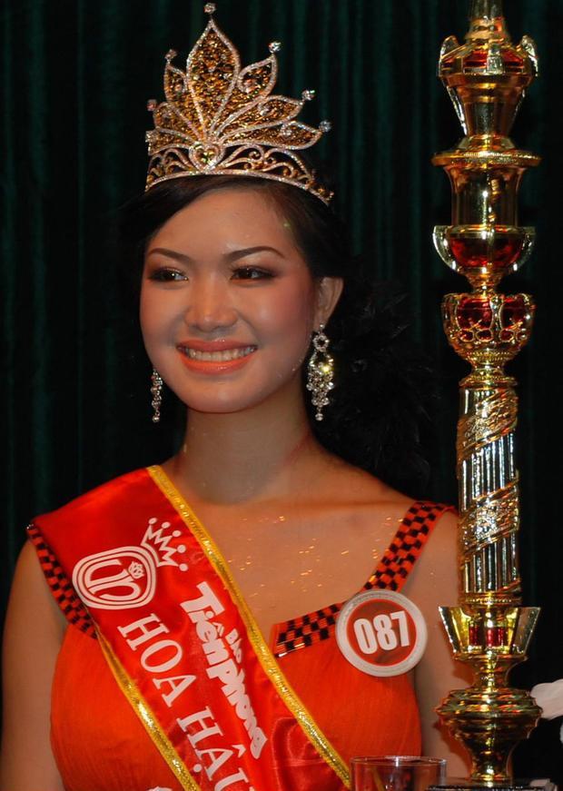 Với nhan sắc nhạt nhòa, Thùy Dung không nhận được sự ủng hộ khi đăng quang Hoa hậu Việt Nam 2008.