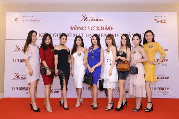 Dàn thí sinh nổi bật trong cuộc thi.