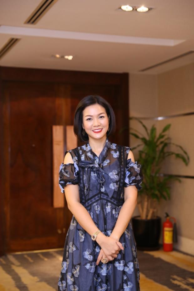 Diễn viên Hoàng Xuân - Giám đốc thương hiệu Thẩm mỹ viện Xuân Hương.