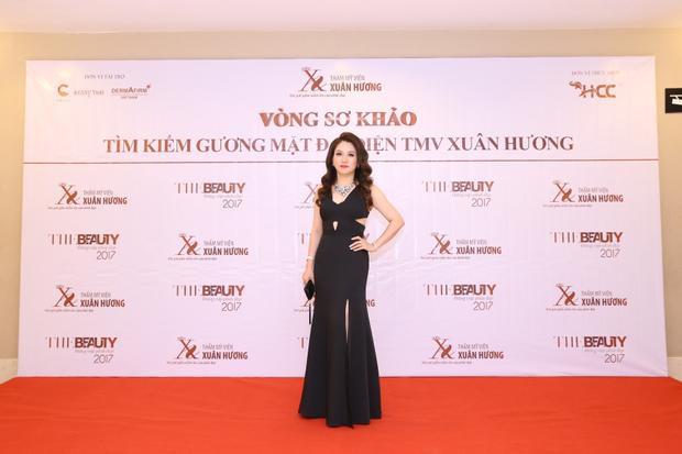 Hoa hậu Doanh nhân Việt Nam Thế giới Xuân Hương.